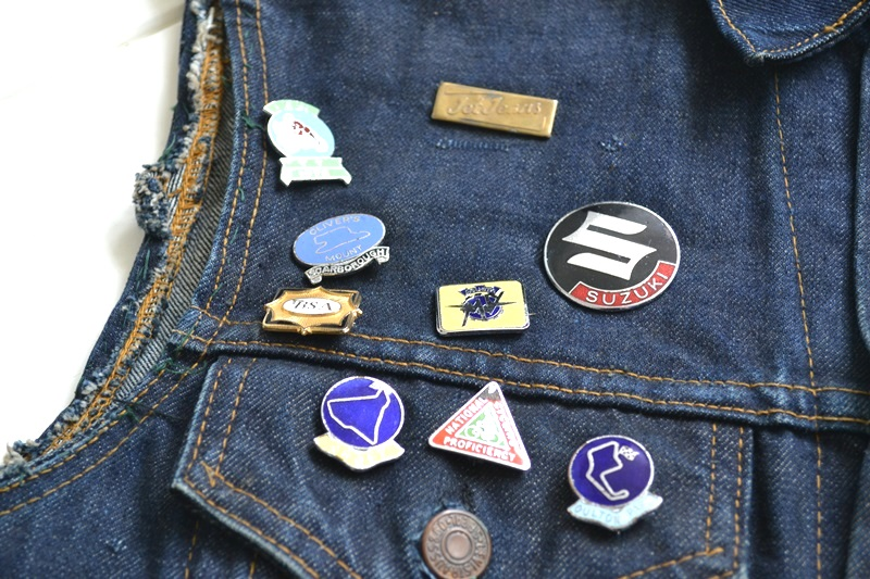 vintage levis jeans trucker big e jacket long john blog archive biker suzuki usa collectors 1968 (4)
