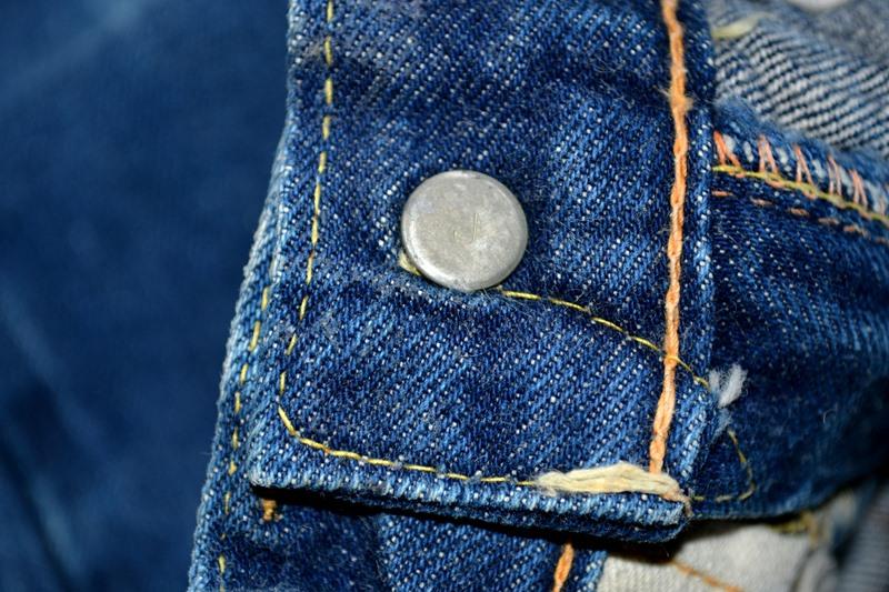 vintage-levis-levis-big-e-kids-toddler-jeans-denim-long-john-blog-bige-zipper-talon-24-snap-button-selvage-selvedge-single-stitched-baby-1960-original-usa-made-lemon-tabacco-13
