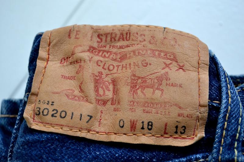vintage-levis-levis-big-e-kids-toddler-jeans-denim-long-john-blog-bige-zipper-talon-24-snap-button-selvage-selvedge-single-stitched-baby-1960-original-usa-made-lemon-tabacco-3