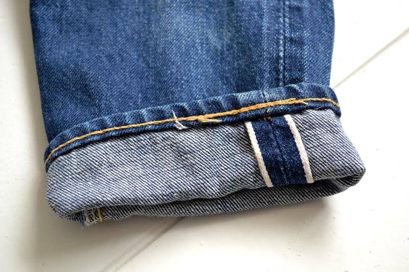 vintage-levis-levis-big-e-kids-toddler-jeans-denim-long-john-blog-bige-zipper-talon-24-snap-button-selvage-selvedge-single-stitched-baby-1960-original-usa-made-lemon-tabacco-9