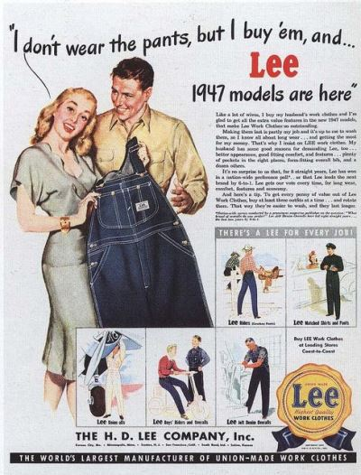 vintage old long john blog lee jeans advertsing ads campagne jeans denim selvage selvedge blue rigid raw blauw spijkerbroek advertentie usa american workwear (5)
