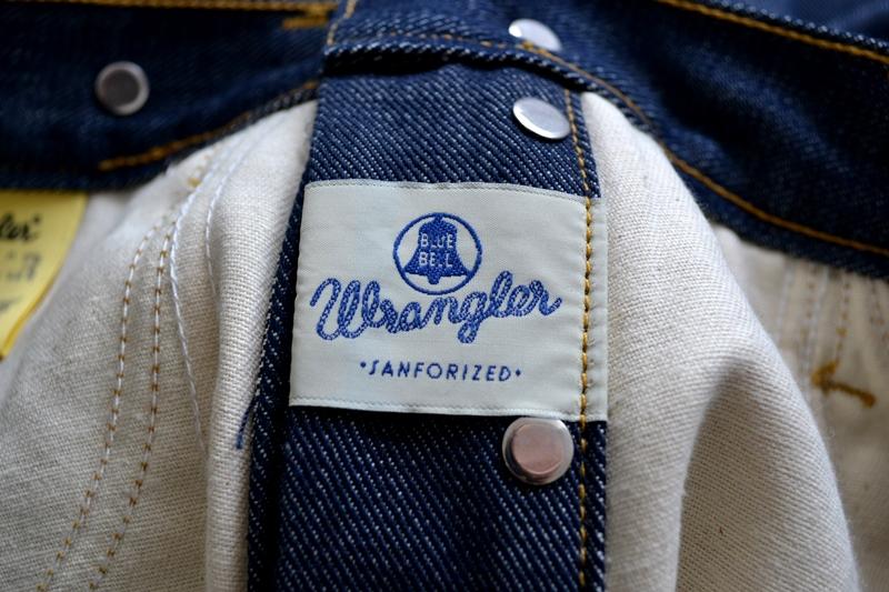 wrangler blue bell champion pants long john blog rodeo clown jeans denim deadstock non-selvage left hand fabric blue indigo usa western (10)