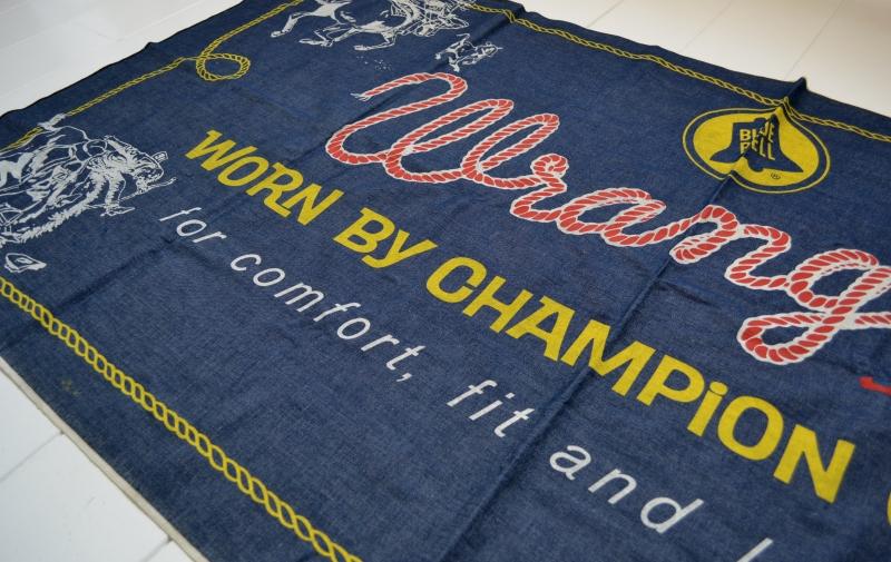 wrangler blue bell jeans banner long john blog vintage usa america window promo material raw unwashed selvage plain selvedge (13)