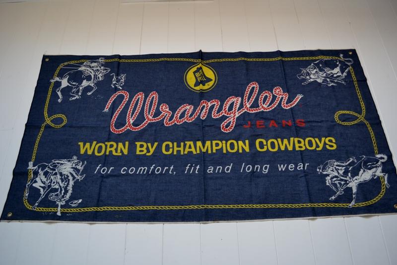 wrangler blue bell jeans banner long john blog vintage usa america window promo material raw unwashed selvage plain selvedge (2)