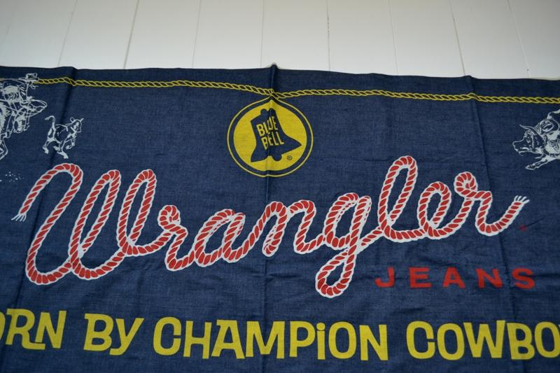 wrangler blue bell jeans banner long john blog vintage usa america window promo material raw unwashed selvage plain selvedge (3)