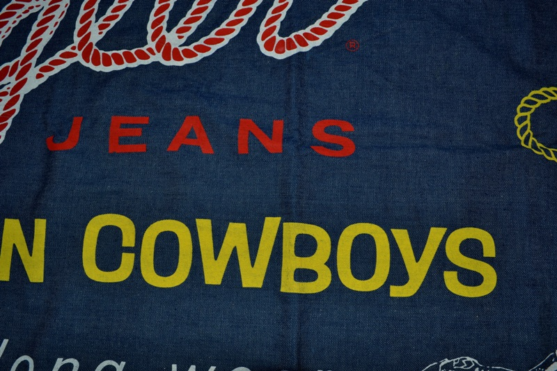 wrangler blue bell jeans banner long john blog vintage usa america window promo material raw unwashed selvage plain selvedge (5)
