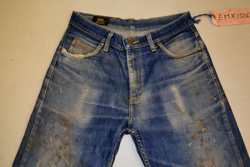 Amsterdam denim days long john blog teaser wouter munnichs denim jeans antonio di battista private collection deadstock selvage levi's lee wrangler selvedge worn-out old destroyed blue rigid raw red tab big e  (5)