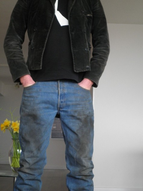 Arie Van Den Berg Levi S 501 Shrink To Fit X Worn Out