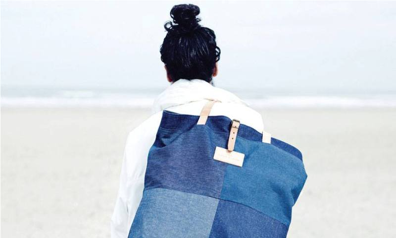 Atelier de L'Armee long john blog spring summer 2014 lookbook joost doeswijk elza wandler handmade totebags japan sashiko holland amsterdam blue raw selvage selvedge rigid unwashed  (5)