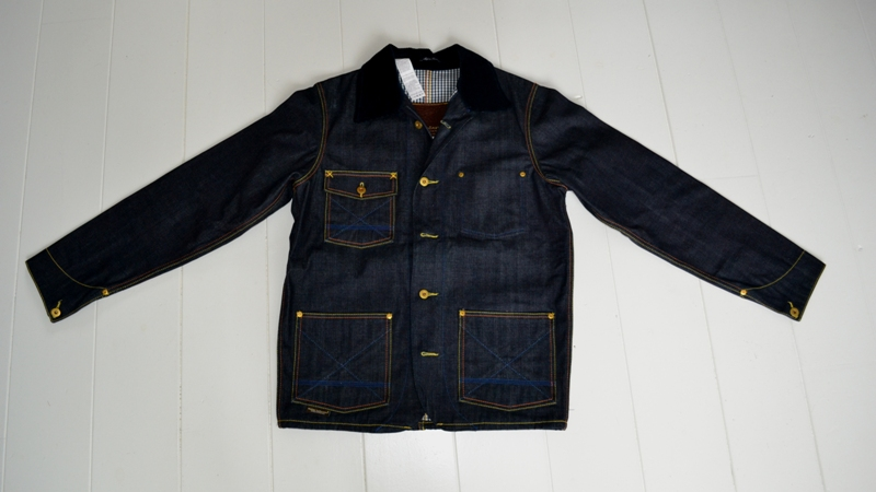 Atelier ladurance atelier la durance long john blog jack raw denim boy bastiaens maastricht jeans japan japanese fabric leather patch rigid workwear jacket blue classic style american (2)