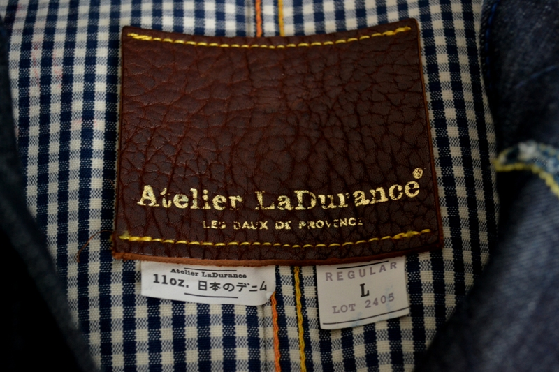 Atelier ladurance atelier la durance long john blog jack raw denim boy bastiaens maastricht jeans japan japanese fabric leather patch rigid workwear jacket blue classic style american (8)