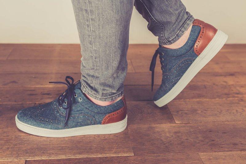 BLUEDAYS -  Brogue Lee men only fall winter 2016 blue days footwear long john blog shoes denim jeans blue indigo holland yanto drogt  (1)