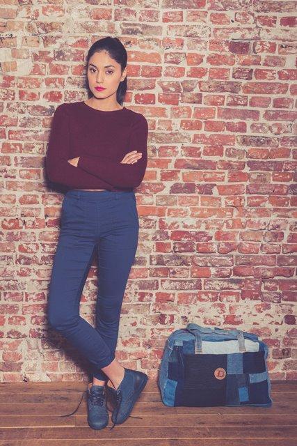 BLUEDAYS -  Brogue Lee men only fall winter 2016 blue days footwear long john blog shoes denim jeans blue indigo holland yanto drogt  (4)