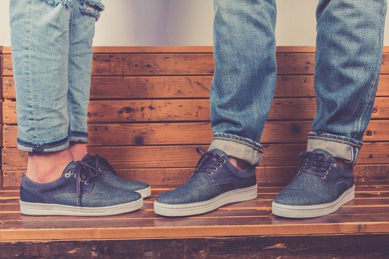 BLUEDAYS -  Brogue Lee men only fall winter 2016 blue days footwear long john blog shoes denim jeans blue indigo holland yanto drogt  (6)
