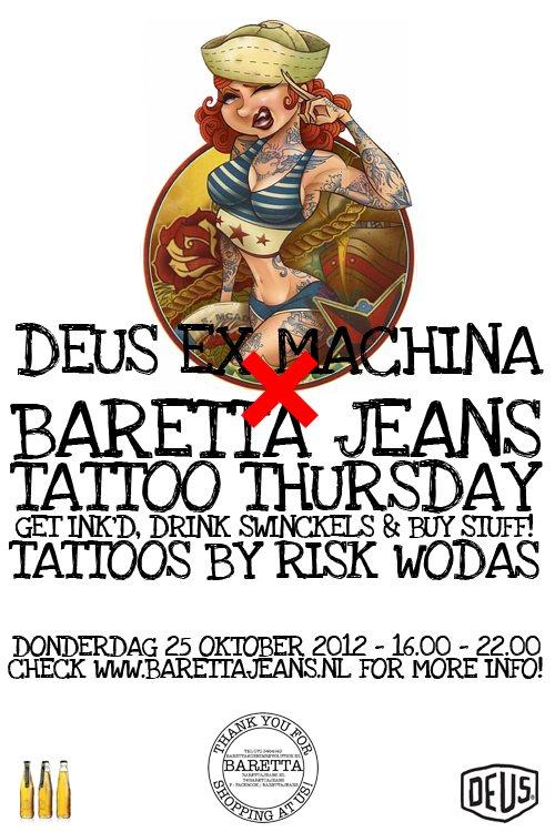 Baretta Den Haag Deus Tattoo Event Long John Long John