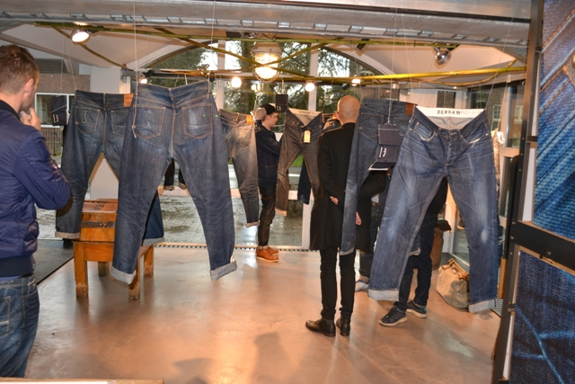 butcher of blue bob hoogland store nl denim expo book
