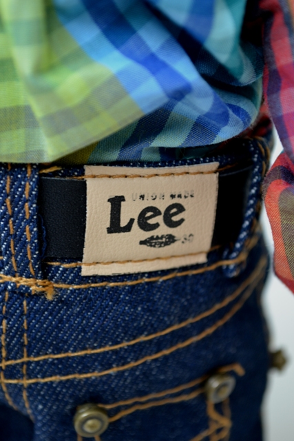 Buddy Lee long john blog lee jeans usa advertising promo window shop promotion 1920 left hand fabric gold line 2007-2008 jeans denim selvage selvedge doll pop cat eye buttons (8)