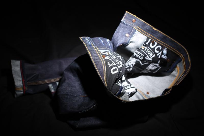 DEADSTOCK RESURRECTION long john blog peter overbeek jeans denim amsterdam 2015 kick-off lancering launch clothing brand new kledingmerk tattoo bikes bikers jackets jack selvage selvedge (4)