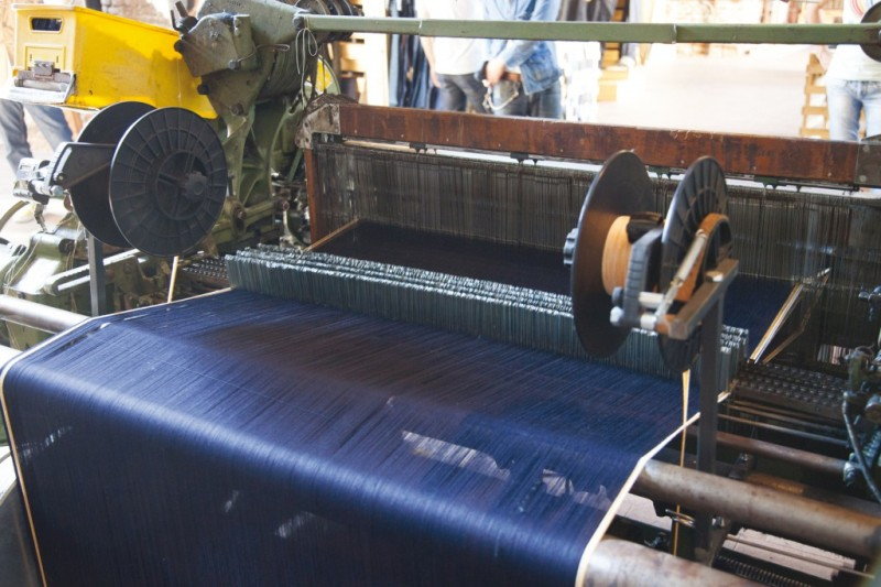 Denim Boulevard long john blog second edition blue blanket jeans event crackers magazine antonio di battista milan milaan italy denim jeans june 2014 berto textiles shuttle loom authentic selvage selvedge  ( (3)