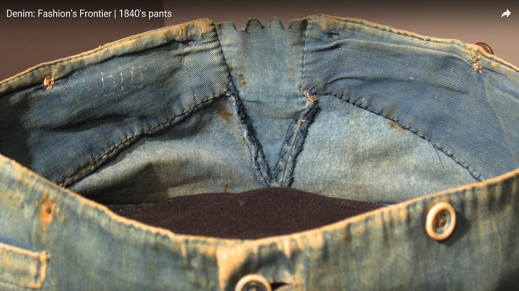 Denim Fashion's Frontier  1840's pants long john blog jeans denim workwear old authentic (1)