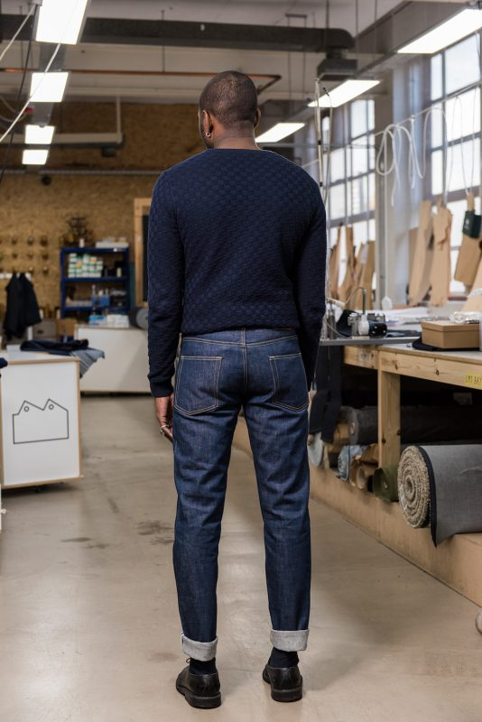 E5-Relaxed-Tapered-Jean-14_5-oz-Organic-Patch-Pocket-Cuff-blackhorselane blackhorse longjohn uk england selvage selvedge (2)