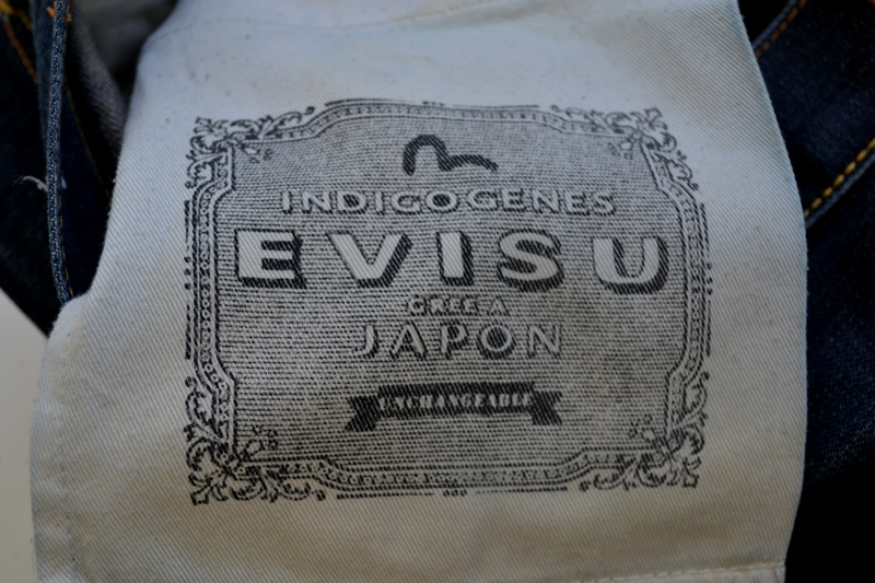 Evisu Jeans japan long john blog wouter munnichs private collection red tab selvage selvedge right hand fabric tribute to levi's lee wrangler blue rigid unwashed raw worn-out special edition (12)