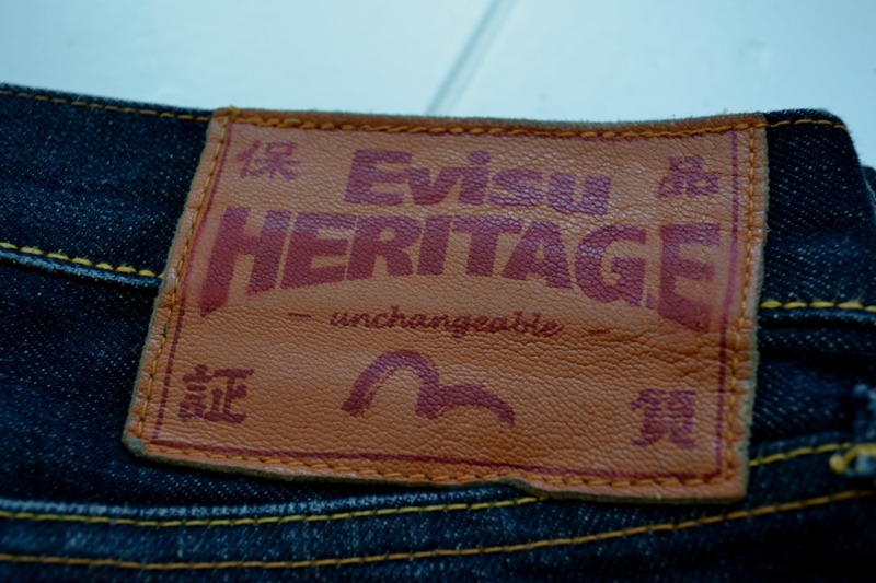 Evisu Jeans japan long john blog wouter munnichs private collection red tab selvage selvedge right hand fabric tribute to levi's lee wrangler blue rigid unwashed raw worn-out special edition (3)
