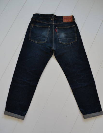 Evisu Jeans japan long john blog wouter munnichs private collection red tab selvage selvedge right hand fabric tribute to levi's lee wrangler blue rigid unwashed raw worn-out special edition (9)