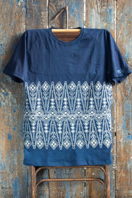 Indigo People Fall 2016 long john blog shirts bow tie bandana blue jeans denim workwear workwear tshirts  (5)