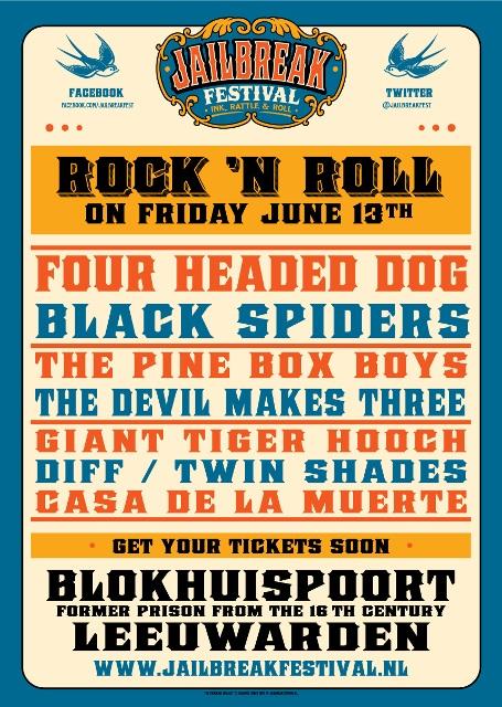 Jailbreak festival Rock Leeuwarden Wytse Sterk Long John blog jeans denim tattoo paul smits holland music rock n roll bikes bikers