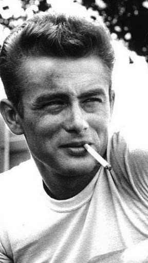 James Dean long john blog denim icon jeans movie star 1955 rebel without a cause usa america rock and roll white shirt jeans leather jacket role model sigaret  (7)