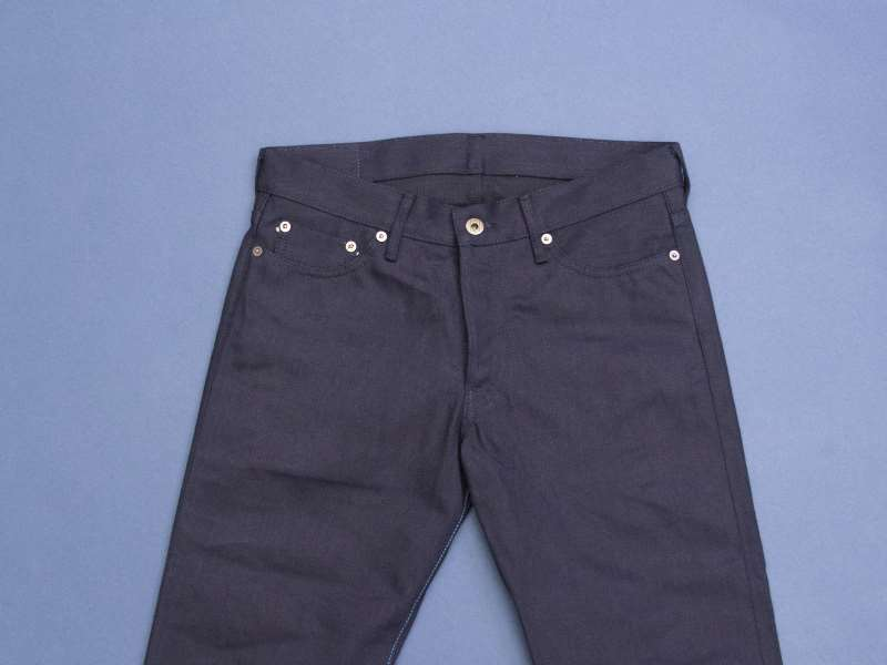 Japan Blue x Tenue de Nîmes Côte d'Ivoire Cotton 'Indigo x Black' Jeans long john blog collab selvage selvedge 2016 limited edition special japan (2)