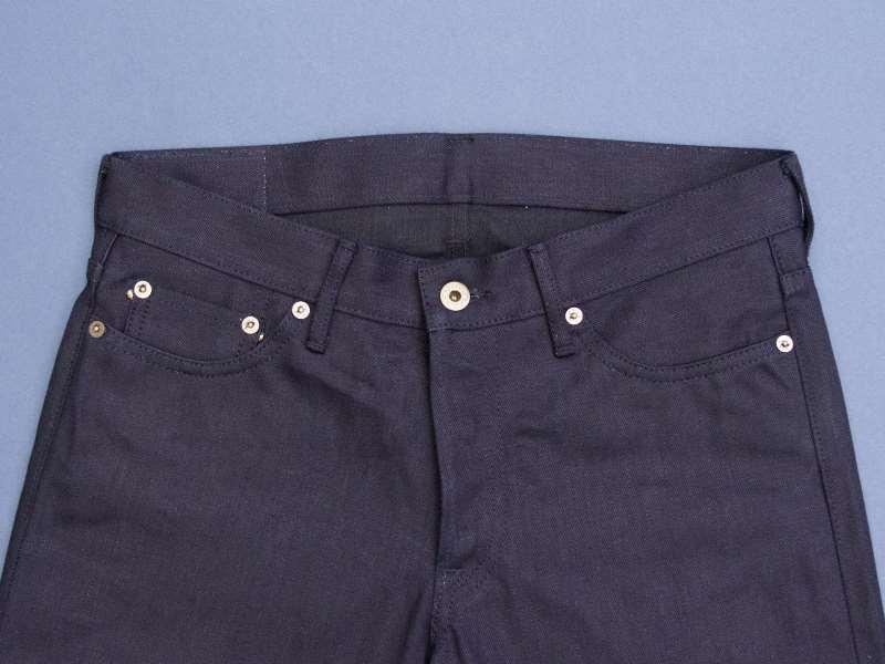 Japan Blue x Tenue de Nîmes Côte d'Ivoire Cotton 'Indigo x Black' Jeans long john blog collab selvage selvedge 2016 limited edition special japan (3)