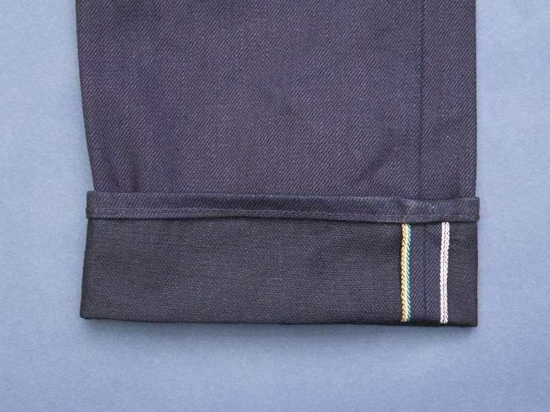 Japan Blue x Tenue de Nîmes Côte d'Ivoire Cotton 'Indigo x Black' Jeans long john blog collab selvage selvedge 2016 limited edition special japan (8)