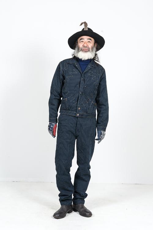 Kapital Japan clothing long john blog fall winter 2015 people indigo boro sashiko jeans denim selvage fabrics style jacket jack pants hats blue natural brand  (4)