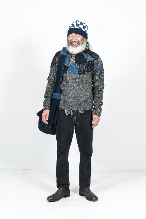 Kapital Japan clothing long john blog fall winter 2015 people indigo boro sashiko jeans denim selvage fabrics style jacket jack pants hats blue natural brand  (5)