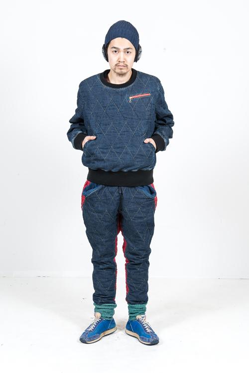 Kapital Japan clothing long john blog fall winter 2015 people indigo boro sashiko jeans denim selvage fabrics style jacket jack pants hats blue natural brand  (6)