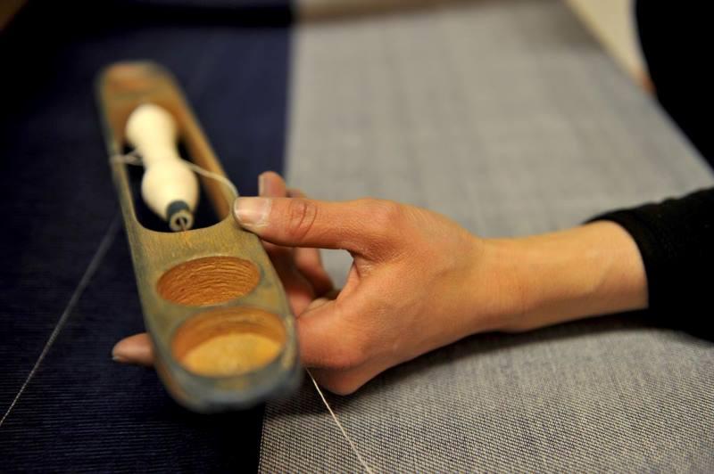 Le Mani by Manifattura 1887 long john blog denim jeans handmade shuttle loom blue indigo selvage selvedge (3)
