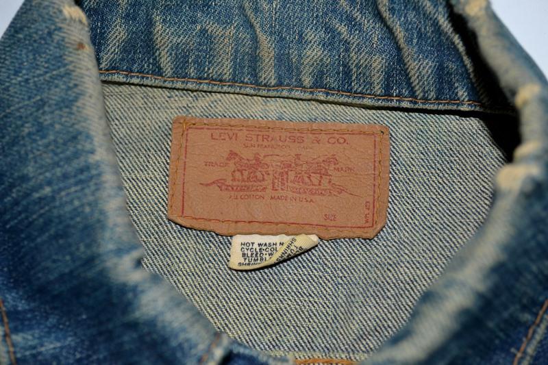 Levi's jeans big e vintage long john blog collector jacket jack big e bikers biker usa red tab we are 501 live in levi's blue denimarchive (10)
