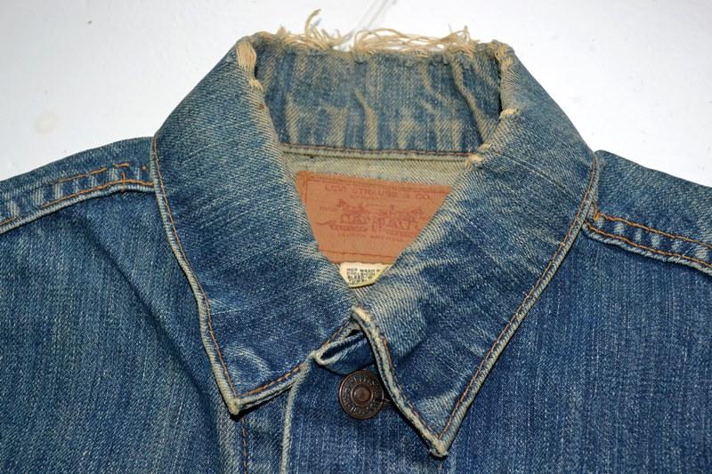 Levi's jeans big e vintage long john blog collector jacket jack big e bikers biker usa red tab we are 501 live in levi's blue denimarchive (9)