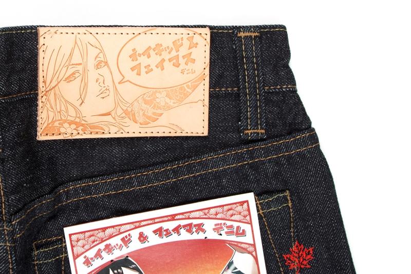 Naked & Famous Denim MIJ (Made in Japan long john blog alvin lee denim jeans collabo blue special edition 2015 canada selvage selvedge unwashed rigid pocket flasher comic designer  (12)