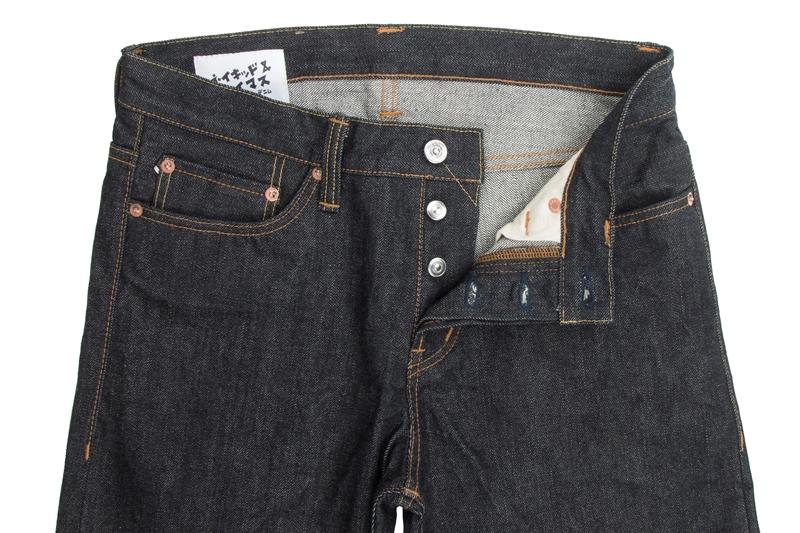 Naked & Famous Denim MIJ (Made in Japan long john blog alvin lee denim jeans collabo blue special edition 2015 canada selvage selvedge unwashed rigid pocket flasher comic designer  (5)