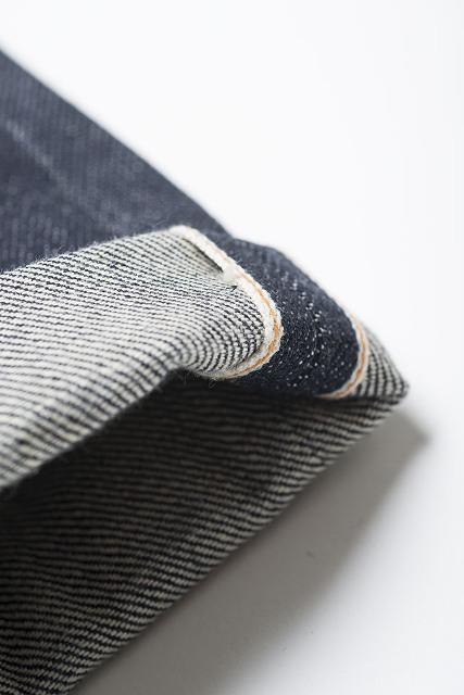 Nudie Jeans Presents Steady Eddie Dry 18oz Heavy Japan Selvage long john blog sweden blue raw rigid selvedge japan spijkerbroek blauw ongewassen maria zwaarste denim leather patch leer  (3)