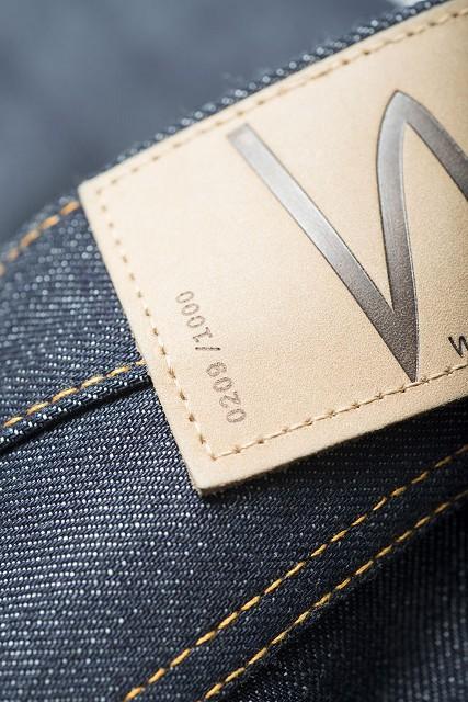 Nudie Jeans Presents Steady Eddie Dry 18oz Heavy Japan Selvage long john blog sweden blue raw rigid selvedge japan spijkerbroek blauw ongewassen maria zwaarste denim leather patch leer  (4)
