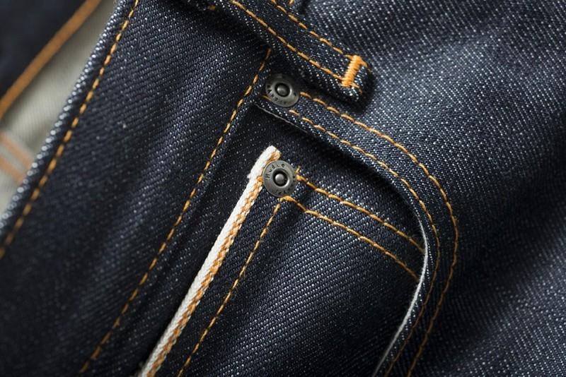 Nudie Jeans Presents Steady Eddie Dry 18oz Heavy Japan Selvage long john blog sweden blue raw rigid selvedge japan spijkerbroek blauw ongewassen maria zwaarste denim leather patch leer  (6)