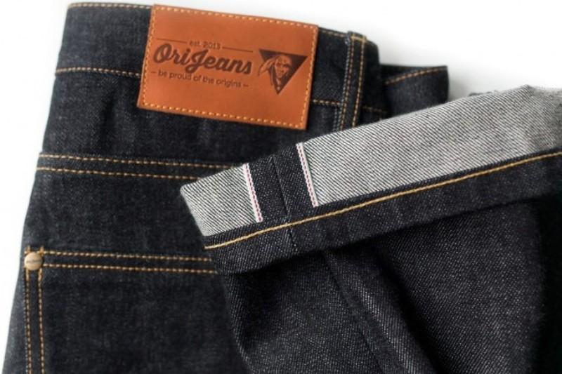 OriJeans Ori jeans denim long john blog raw rigid handmade pre-order custom made custommade usa us cone mills selvage selvage red line five pocket 5 pocket leather patch skinny fit straight  (10)