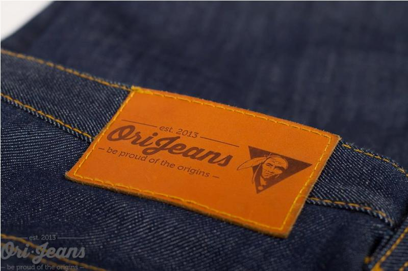 OriJeans Ori jeans denim long john blog raw rigid handmade pre-order custom made custommade usa us cone mills selvage selvage red line five pocket 5 pocket leather patch skinny fit straight  (2)