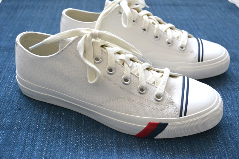 PRO-Keds long john blog sneakers keds usa america old school white canvas classic red blue jeans denim bos group holland seedingbox bloggers media shirt tshirt (13)