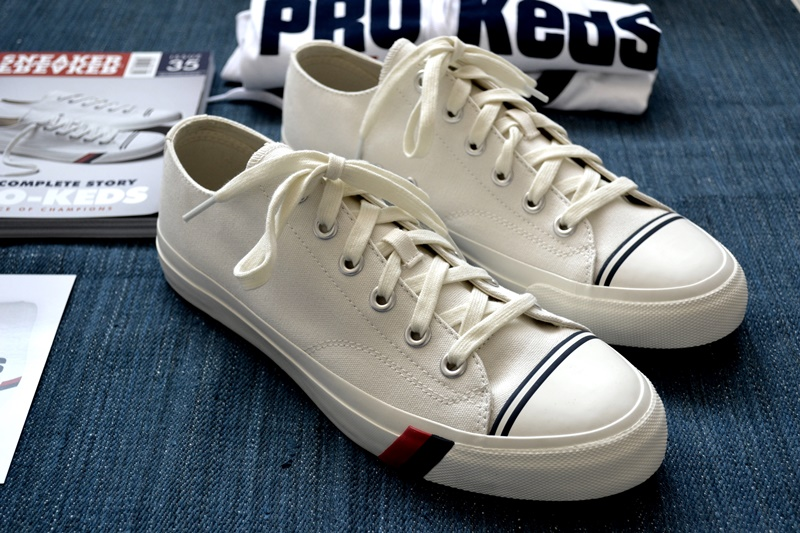 PRO-Keds long john blog sneakers keds usa america old school white canvas classic red blue jeans denim bos group holland seedingbox bloggers media shirt tshirt (7)