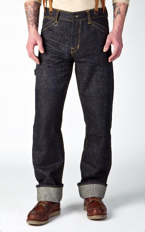 Pike Brothers 1908 Miner Pant Indigo Hemp Denim 14oz longjohn denim jeans long john blog blue selvage selvedge pants pant pantalon miners usa gold rush (1)